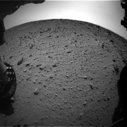 Nasa's Mars rover Curiosity acquired this image using its Front Hazard Avoidance Camera (Front Hazcam) on Sol 669, at drive 282, site number 37