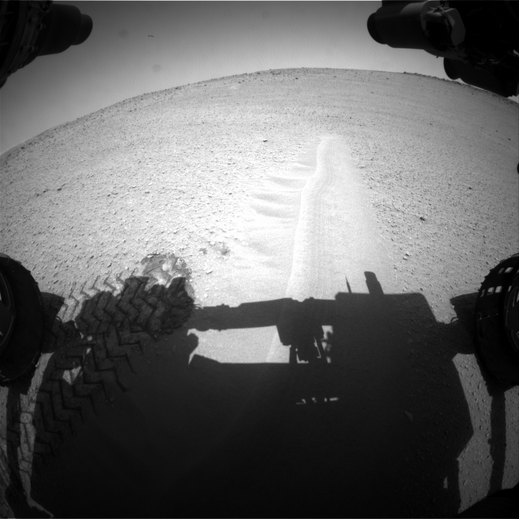 Nasa's Mars rover Curiosity acquired this image using its Front Hazard Avoidance Camera (Front Hazcam) on Sol 669, at drive 0, site number 37