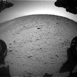 Nasa's Mars rover Curiosity acquired this image using its Front Hazard Avoidance Camera (Front Hazcam) on Sol 669, at drive 210, site number 37