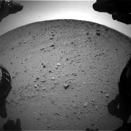 Nasa's Mars rover Curiosity acquired this image using its Front Hazard Avoidance Camera (Front Hazcam) on Sol 669, at drive 246, site number 37