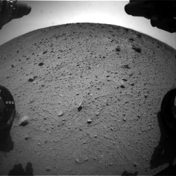 Nasa's Mars rover Curiosity acquired this image using its Front Hazard Avoidance Camera (Front Hazcam) on Sol 669, at drive 264, site number 37