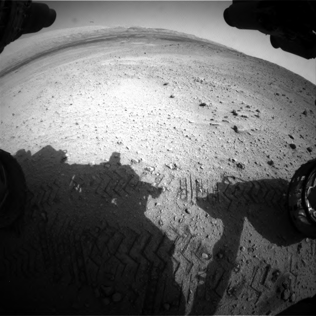 Nasa's Mars rover Curiosity acquired this image using its Front Hazard Avoidance Camera (Front Hazcam) on Sol 669, at drive 292, site number 37
