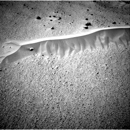 Nasa's Mars rover Curiosity acquired this image using its Right Navigation Camera on Sol 669, at drive 42, site number 37