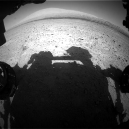 Nasa's Mars rover Curiosity acquired this image using its Front Hazard Avoidance Camera (Front Hazcam) on Sol 670, at drive 676, site number 37