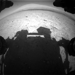 Nasa's Mars rover Curiosity acquired this image using its Front Hazard Avoidance Camera (Front Hazcam) on Sol 670, at drive 664, site number 37