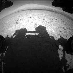 Nasa's Mars rover Curiosity acquired this image using its Front Hazard Avoidance Camera (Front Hazcam) on Sol 670, at drive 670, site number 37