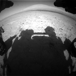 Nasa's Mars rover Curiosity acquired this image using its Front Hazard Avoidance Camera (Front Hazcam) on Sol 670, at drive 682, site number 37