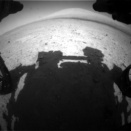 Nasa's Mars rover Curiosity acquired this image using its Front Hazard Avoidance Camera (Front Hazcam) on Sol 670, at drive 688, site number 37