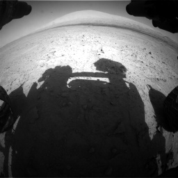 Nasa's Mars rover Curiosity acquired this image using its Front Hazard Avoidance Camera (Front Hazcam) on Sol 670, at drive 712, site number 37