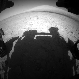 Nasa's Mars rover Curiosity acquired this image using its Front Hazard Avoidance Camera (Front Hazcam) on Sol 670, at drive 718, site number 37