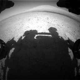 Nasa's Mars rover Curiosity acquired this image using its Front Hazard Avoidance Camera (Front Hazcam) on Sol 670, at drive 730, site number 37