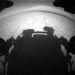 Nasa's Mars rover Curiosity acquired this image using its Front Hazard Avoidance Camera (Front Hazcam) on Sol 670, at drive 736, site number 37