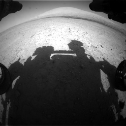 Nasa's Mars rover Curiosity acquired this image using its Front Hazard Avoidance Camera (Front Hazcam) on Sol 670, at drive 742, site number 37