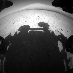 Nasa's Mars rover Curiosity acquired this image using its Front Hazard Avoidance Camera (Front Hazcam) on Sol 670, at drive 748, site number 37