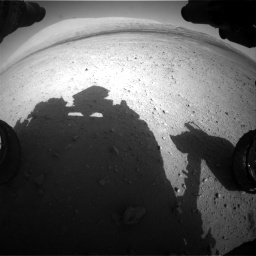 Nasa's Mars rover Curiosity acquired this image using its Front Hazard Avoidance Camera (Front Hazcam) on Sol 670, at drive 790, site number 37