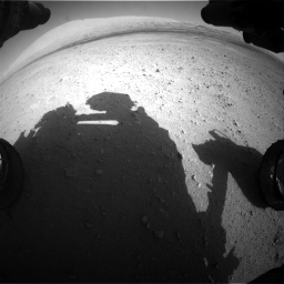 Nasa's Mars rover Curiosity acquired this image using its Front Hazard Avoidance Camera (Front Hazcam) on Sol 670, at drive 808, site number 37