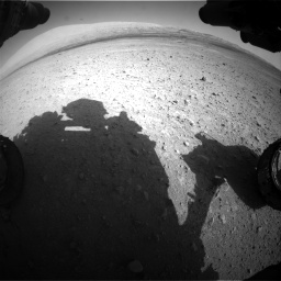 Nasa's Mars rover Curiosity acquired this image using its Front Hazard Avoidance Camera (Front Hazcam) on Sol 670, at drive 844, site number 37