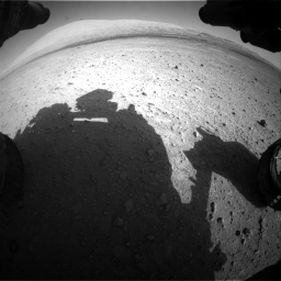 Nasa's Mars rover Curiosity acquired this image using its Front Hazard Avoidance Camera (Front Hazcam) on Sol 670, at drive 862, site number 37