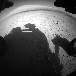 Nasa's Mars rover Curiosity acquired this image using its Front Hazard Avoidance Camera (Front Hazcam) on Sol 670, at drive 880, site number 37