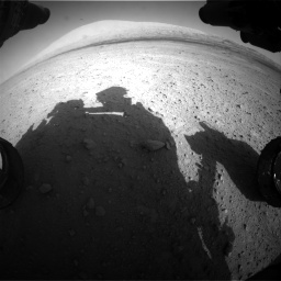 Nasa's Mars rover Curiosity acquired this image using its Front Hazard Avoidance Camera (Front Hazcam) on Sol 670, at drive 934, site number 37