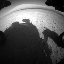 Nasa's Mars rover Curiosity acquired this image using its Front Hazard Avoidance Camera (Front Hazcam) on Sol 670, at drive 952, site number 37