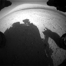 Nasa's Mars rover Curiosity acquired this image using its Front Hazard Avoidance Camera (Front Hazcam) on Sol 670, at drive 970, site number 37