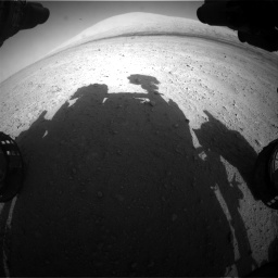 Nasa's Mars rover Curiosity acquired this image using its Front Hazard Avoidance Camera (Front Hazcam) on Sol 670, at drive 988, site number 37