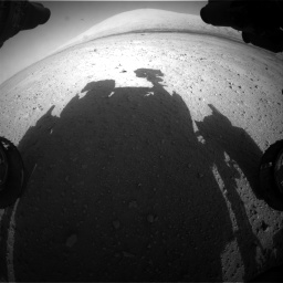 Nasa's Mars rover Curiosity acquired this image using its Front Hazard Avoidance Camera (Front Hazcam) on Sol 670, at drive 1042, site number 37