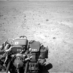 Nasa's Mars rover Curiosity acquired this image using its Left Navigation Camera on Sol 670, at drive 664, site number 37