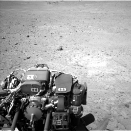 Nasa's Mars rover Curiosity acquired this image using its Left Navigation Camera on Sol 670, at drive 682, site number 37