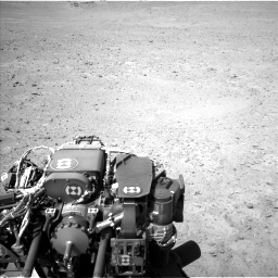 Nasa's Mars rover Curiosity acquired this image using its Left Navigation Camera on Sol 670, at drive 712, site number 37