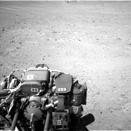 Nasa's Mars rover Curiosity acquired this image using its Left Navigation Camera on Sol 670, at drive 730, site number 37