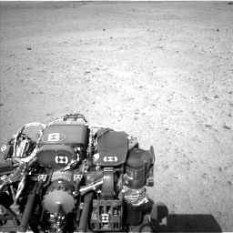 Nasa's Mars rover Curiosity acquired this image using its Left Navigation Camera on Sol 670, at drive 844, site number 37