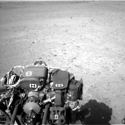 Nasa's Mars rover Curiosity acquired this image using its Left Navigation Camera on Sol 670, at drive 952, site number 37