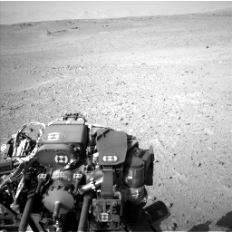 Nasa's Mars rover Curiosity acquired this image using its Left Navigation Camera on Sol 670, at drive 1006, site number 37