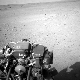 Nasa's Mars rover Curiosity acquired this image using its Left Navigation Camera on Sol 670, at drive 1060, site number 37