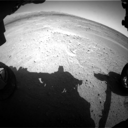Nasa's Mars rover Curiosity acquired this image using its Front Hazard Avoidance Camera (Front Hazcam) on Sol 671, at drive 1490, site number 37