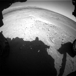 Nasa's Mars rover Curiosity acquired this image using its Front Hazard Avoidance Camera (Front Hazcam) on Sol 671, at drive 1496, site number 37
