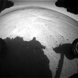 Nasa's Mars rover Curiosity acquired this image using its Front Hazard Avoidance Camera (Front Hazcam) on Sol 671, at drive 1484, site number 37