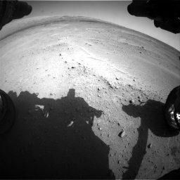Nasa's Mars rover Curiosity acquired this image using its Front Hazard Avoidance Camera (Front Hazcam) on Sol 671, at drive 1508, site number 37