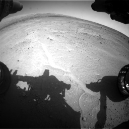 Nasa's Mars rover Curiosity acquired this image using its Front Hazard Avoidance Camera (Front Hazcam) on Sol 671, at drive 1520, site number 37