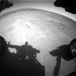 Nasa's Mars rover Curiosity acquired this image using its Front Hazard Avoidance Camera (Front Hazcam) on Sol 671, at drive 1526, site number 37