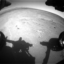 Nasa's Mars rover Curiosity acquired this image using its Front Hazard Avoidance Camera (Front Hazcam) on Sol 671, at drive 1532, site number 37