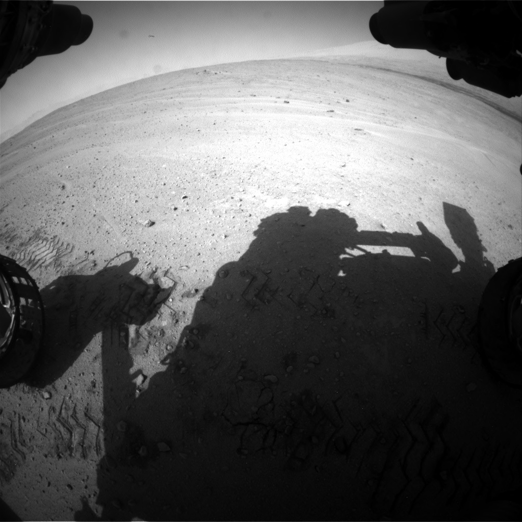 Nasa's Mars rover Curiosity acquired this image using its Front Hazard Avoidance Camera (Front Hazcam) on Sol 671, at drive 1542, site number 37