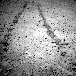 Nasa's Mars rover Curiosity acquired this image using its Left Navigation Camera on Sol 671, at drive 1148, site number 37