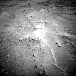 Nasa's Mars rover Curiosity acquired this image using its Left Navigation Camera on Sol 671, at drive 1502, site number 37