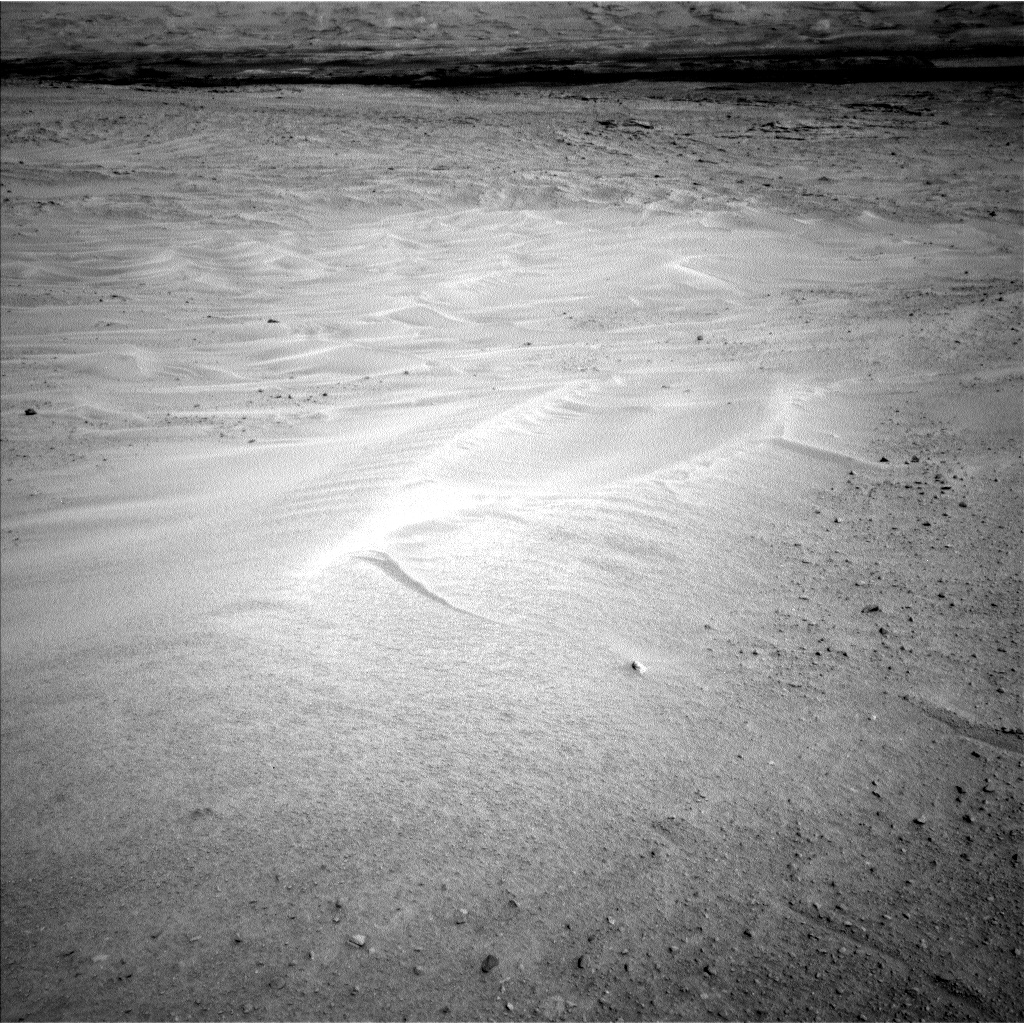 Nasa's Mars rover Curiosity acquired this image using its Left Navigation Camera on Sol 671, at drive 1542, site number 37