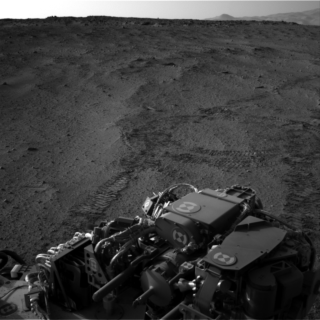 Nasa's Mars rover Curiosity acquired this image using its Right Navigation Camera on Sol 671, at drive 1542, site number 37