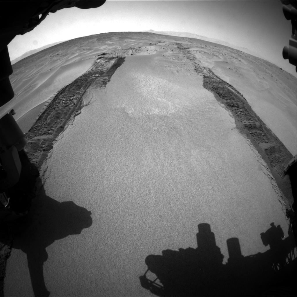 Nasa's Mars rover Curiosity acquired this image using its Front Hazard Avoidance Camera (Front Hazcam) on Sol 672, at drive 0, site number 38