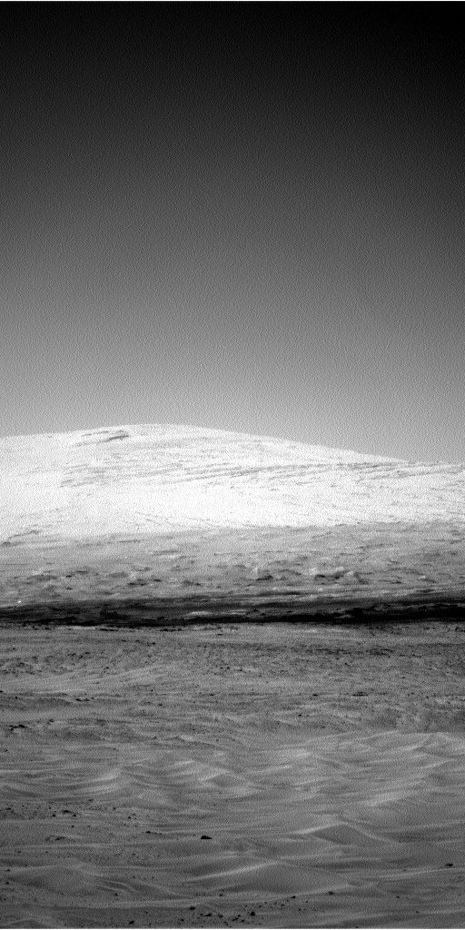 Nasa's Mars rover Curiosity acquired this image using its Left Navigation Camera on Sol 672, at drive 1542, site number 37